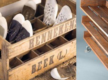 8 ideas creativas para guardar tus zapatos.